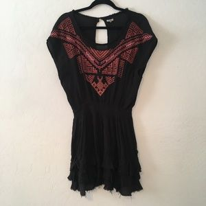 """Anthropologie """"Ecote"""" embroidered dress"""